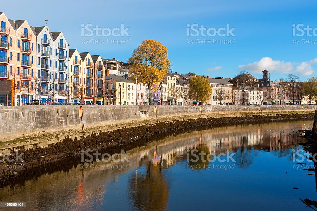 Cork city, Ireland stock photo