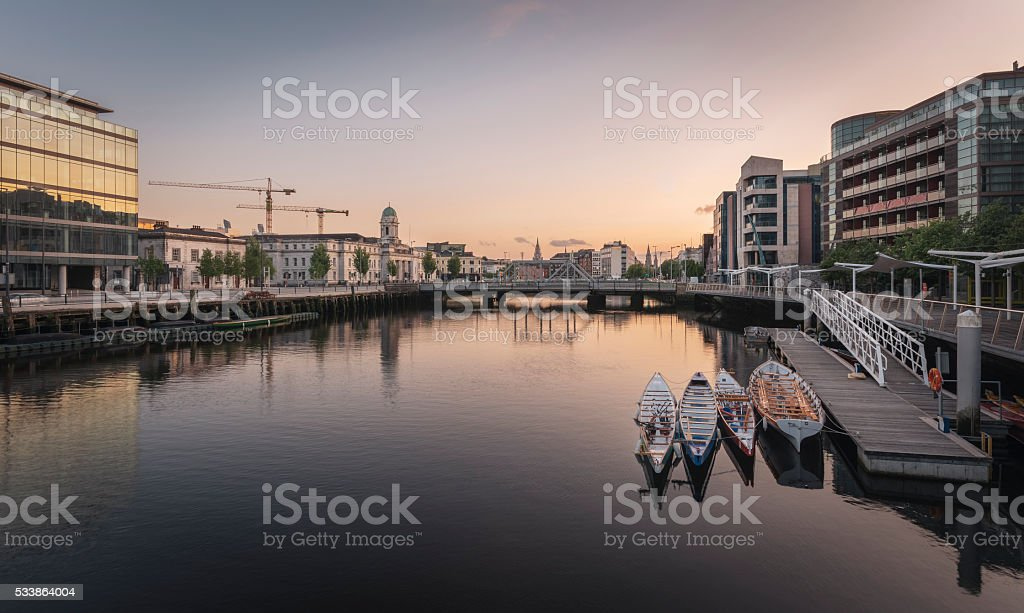 Cork City, Ireland. stock photo