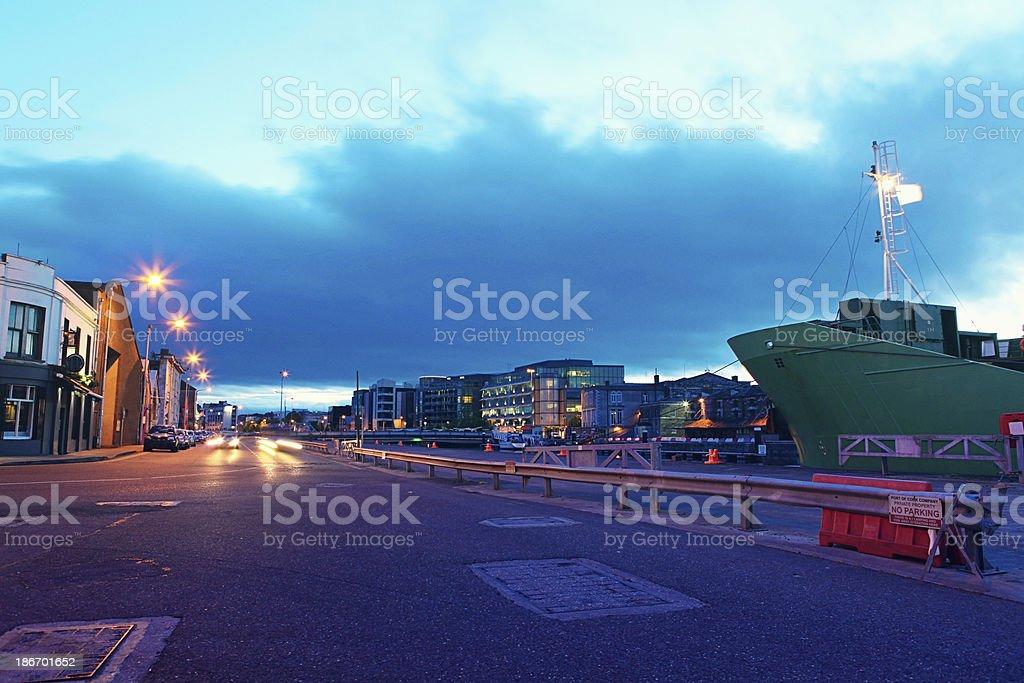 Cork City royalty-free stock photo