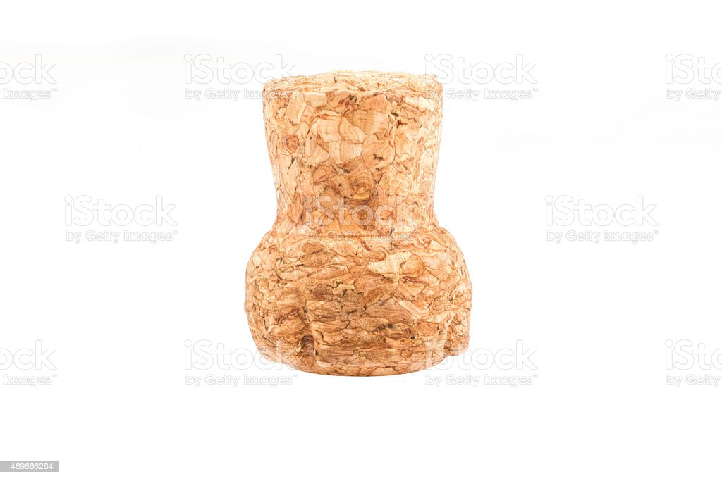 cork from a champagne stock photo