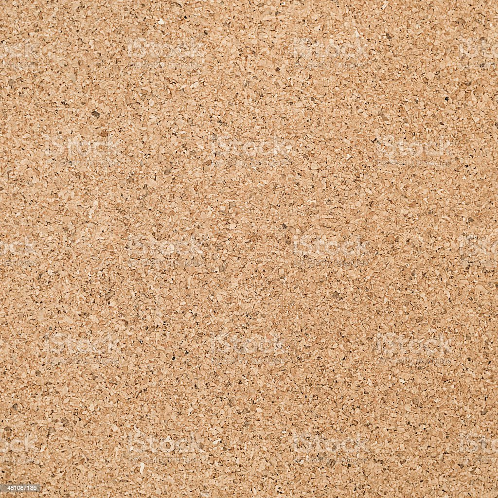Cork Panel Background stock photo