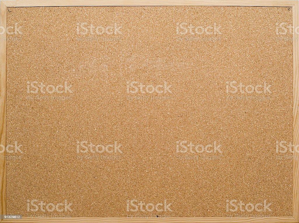 Cork pin wall royalty-free stock photo