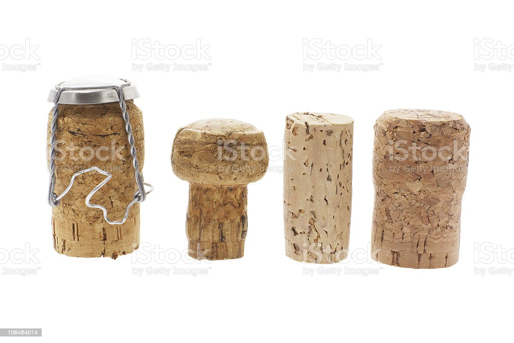 Cork Stoppers stock photo