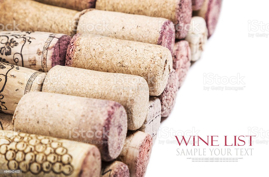 cork wine stock photo