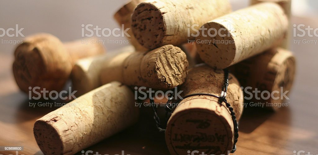 corkage royalty-free stock photo