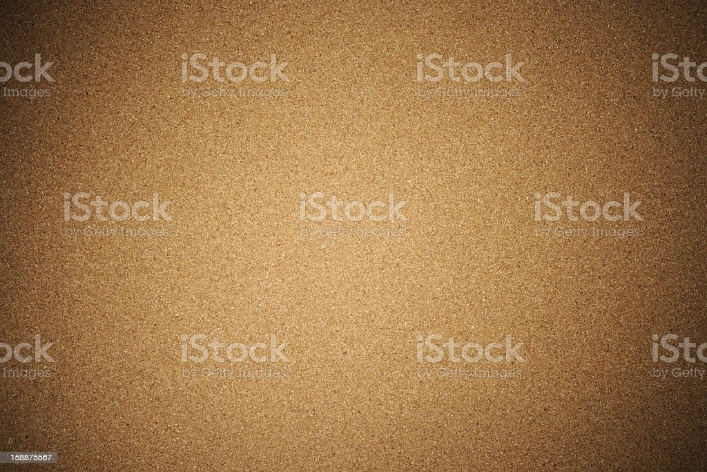 Corkboard texture background with spotlight stock photo