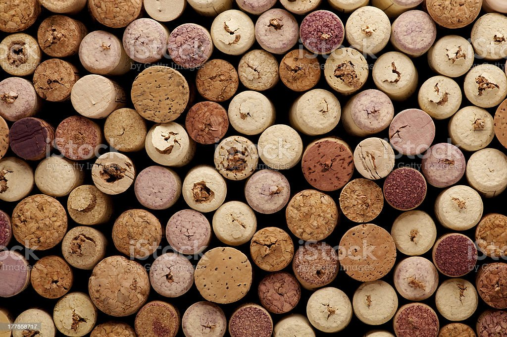 Corks Background stock photo