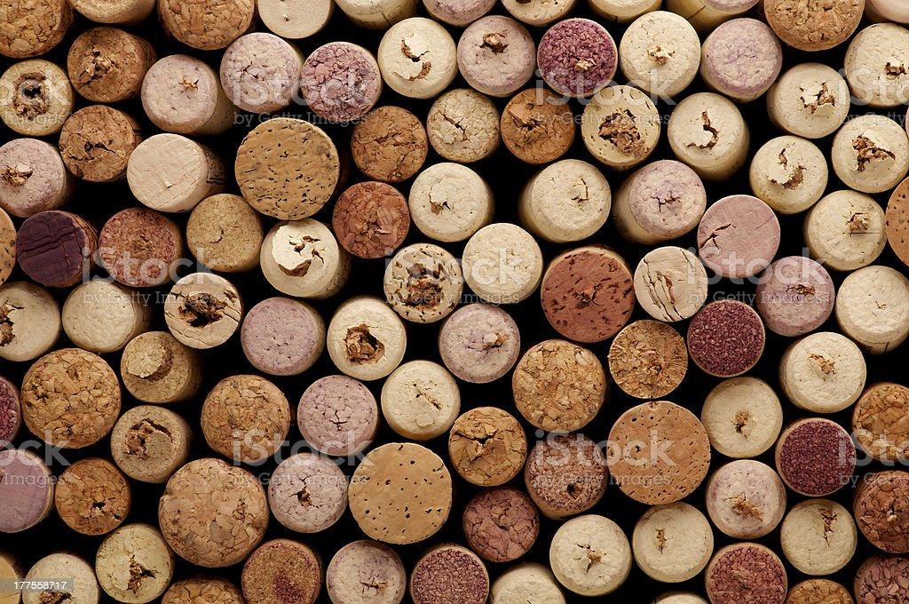 Corks Background stock photo