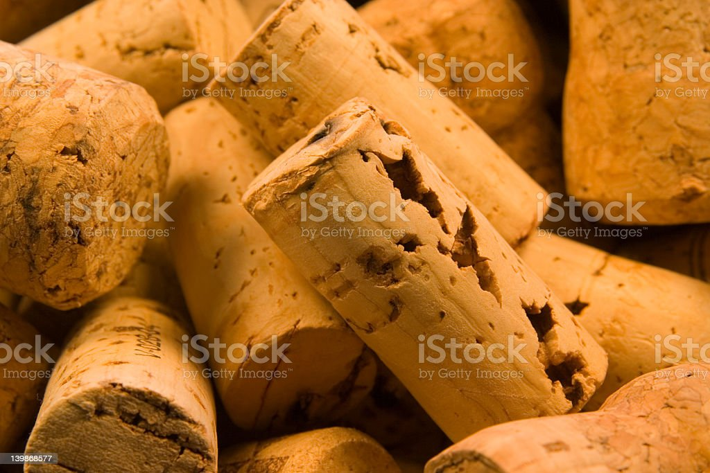 Corks Close Up 2 royalty-free stock photo