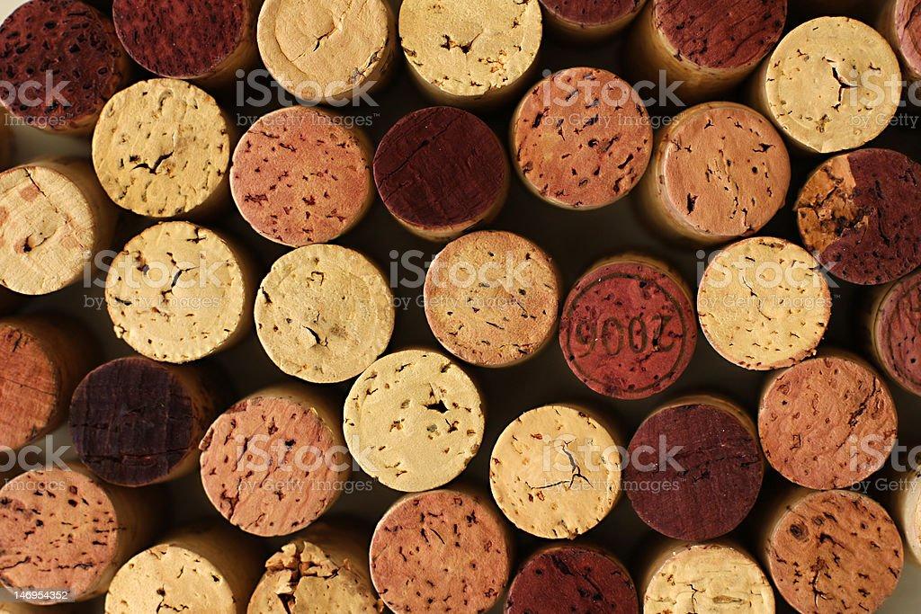 Corks galore stock photo