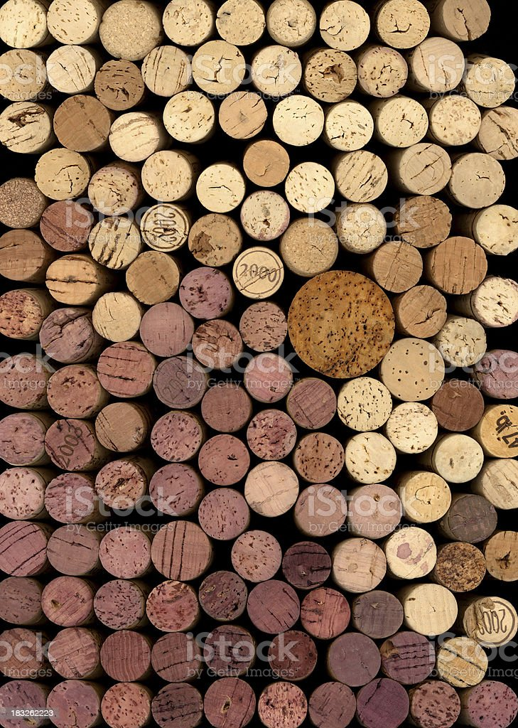 corks stack royalty-free stock photo