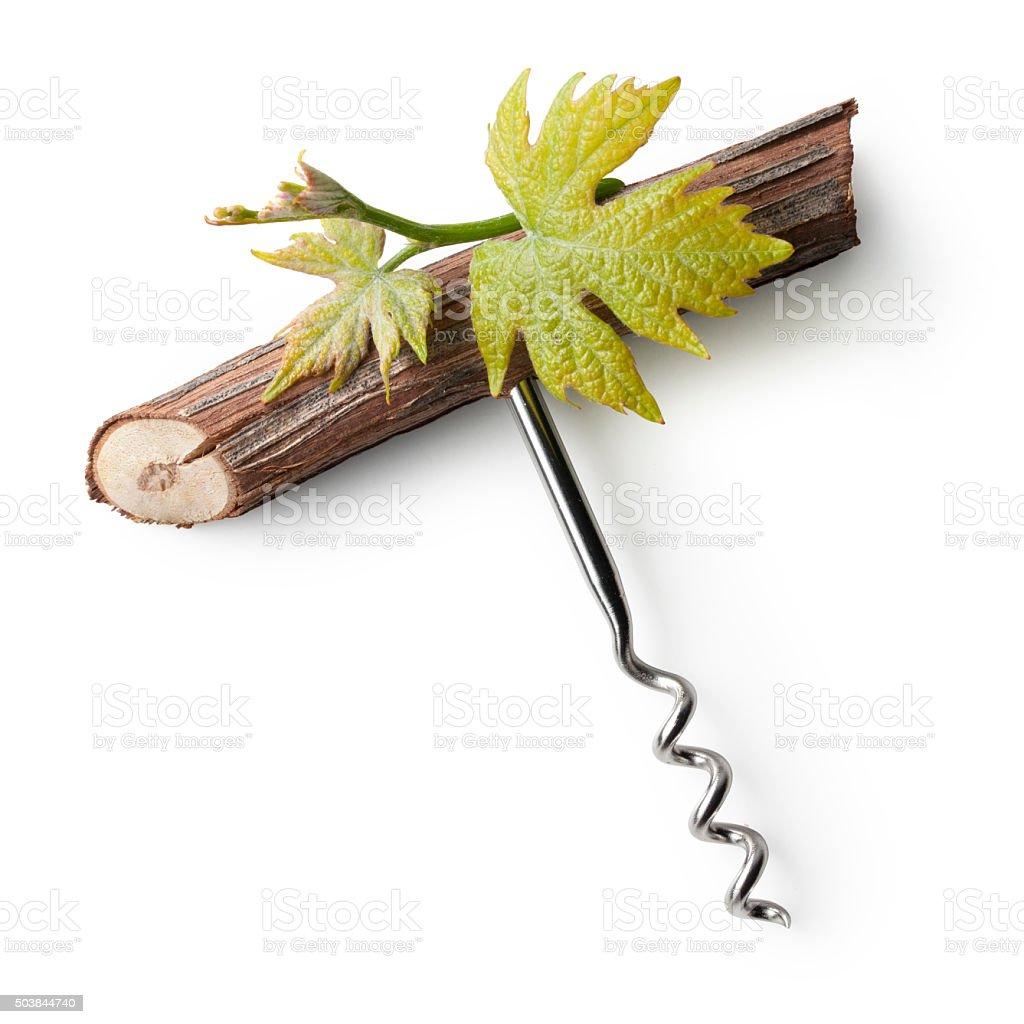 Corkscrew. Concept image. stock photo