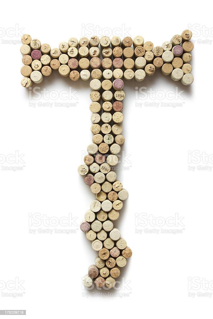 Corkscrew shape royalty-free stock photo