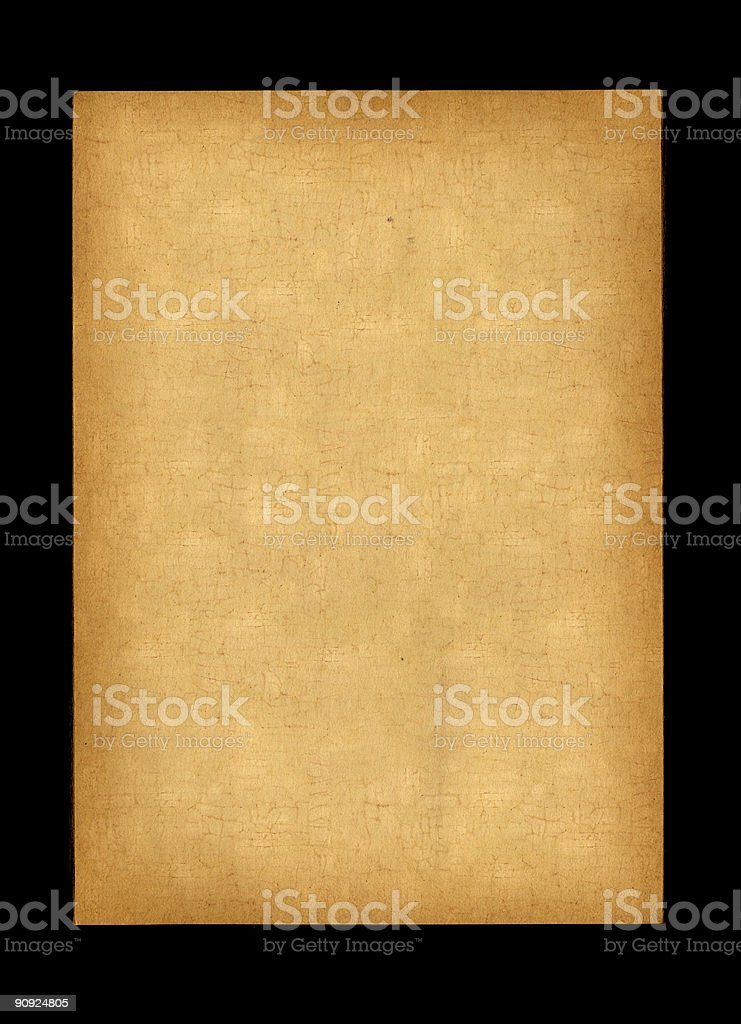 Cork-Textured Paper XXL royalty-free stock photo