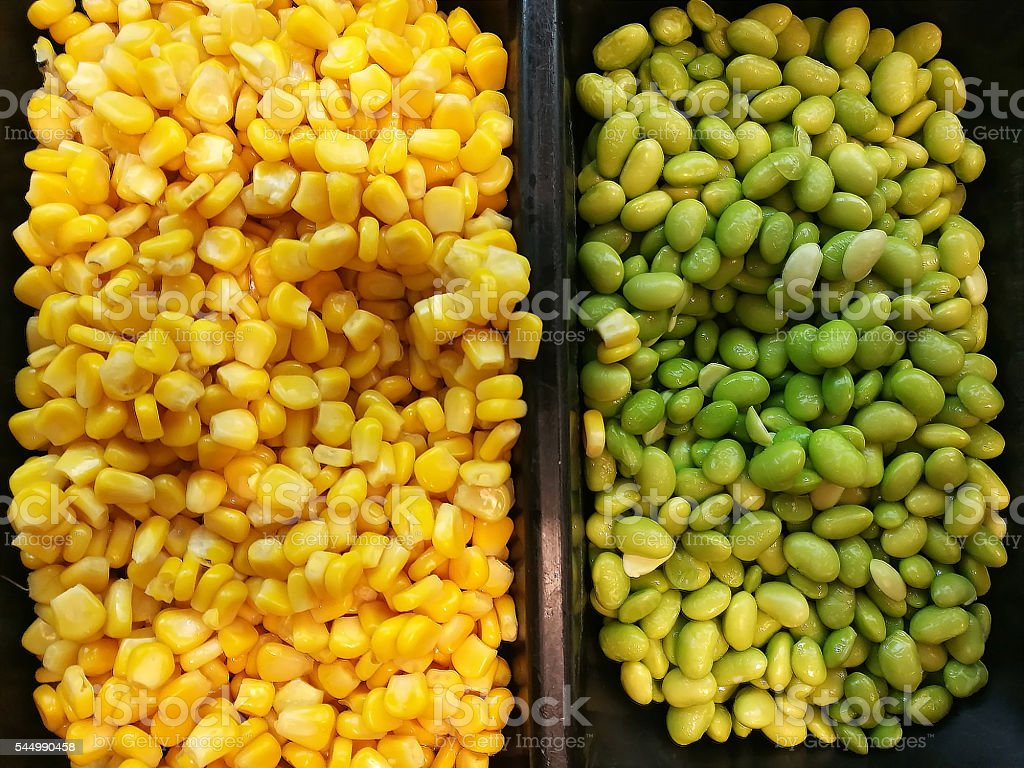 corn and soybean royalty-free stock photo