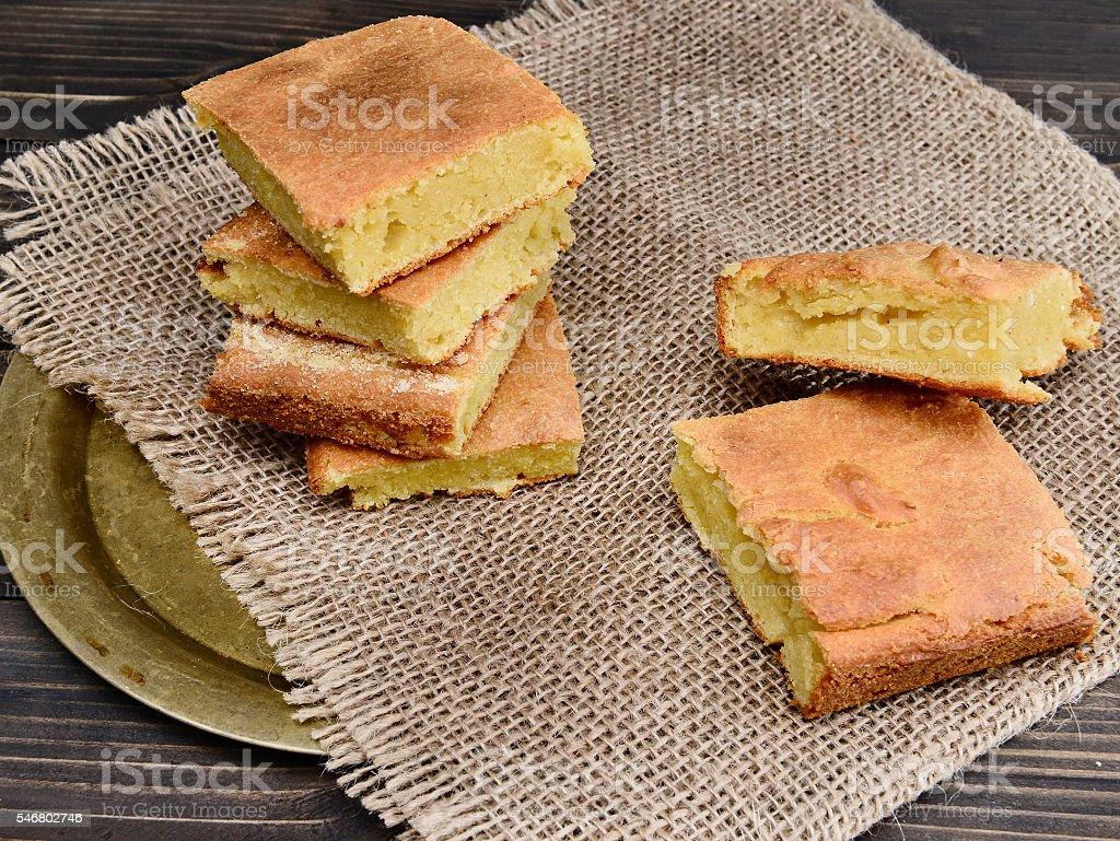 Corn bread stock photo