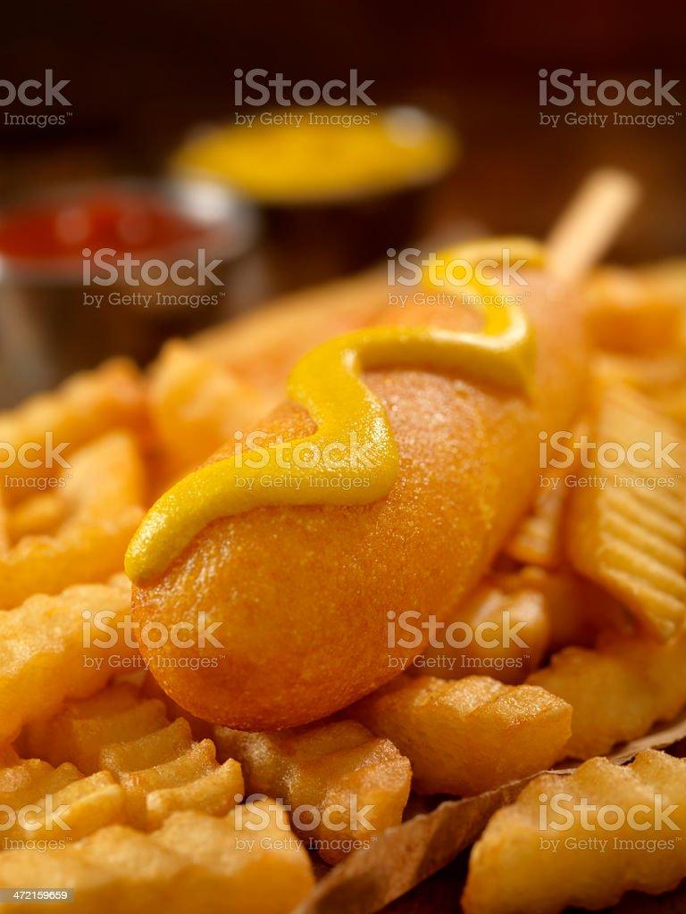 Corn Dog stock photo