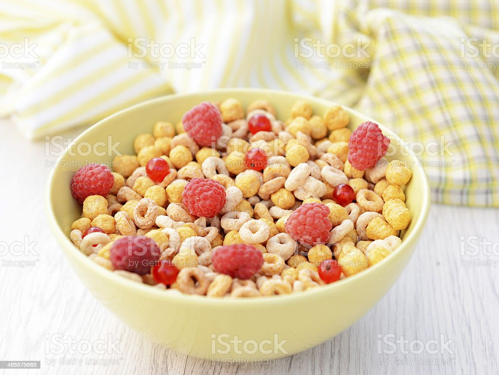 Corn Flakes royalty-free stock photo