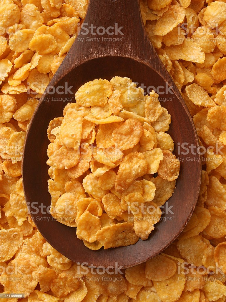 Cornflakes royalty-free stock photo