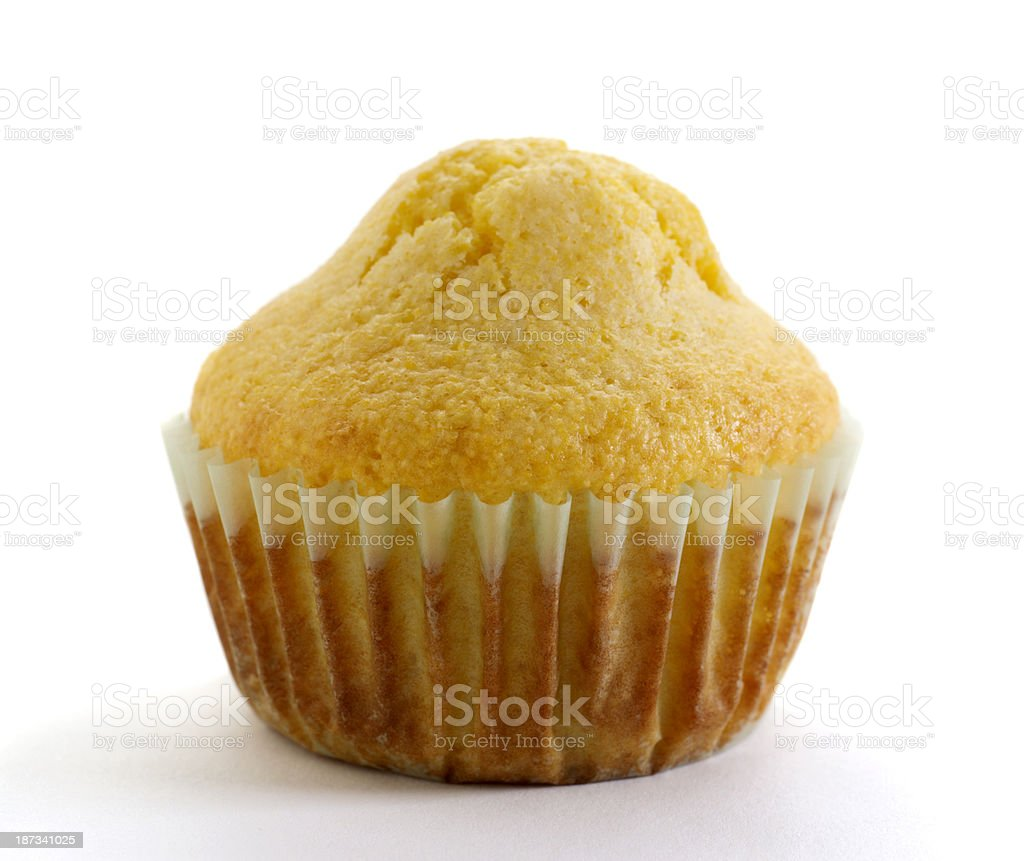 Corn Meal Muffin stock photo