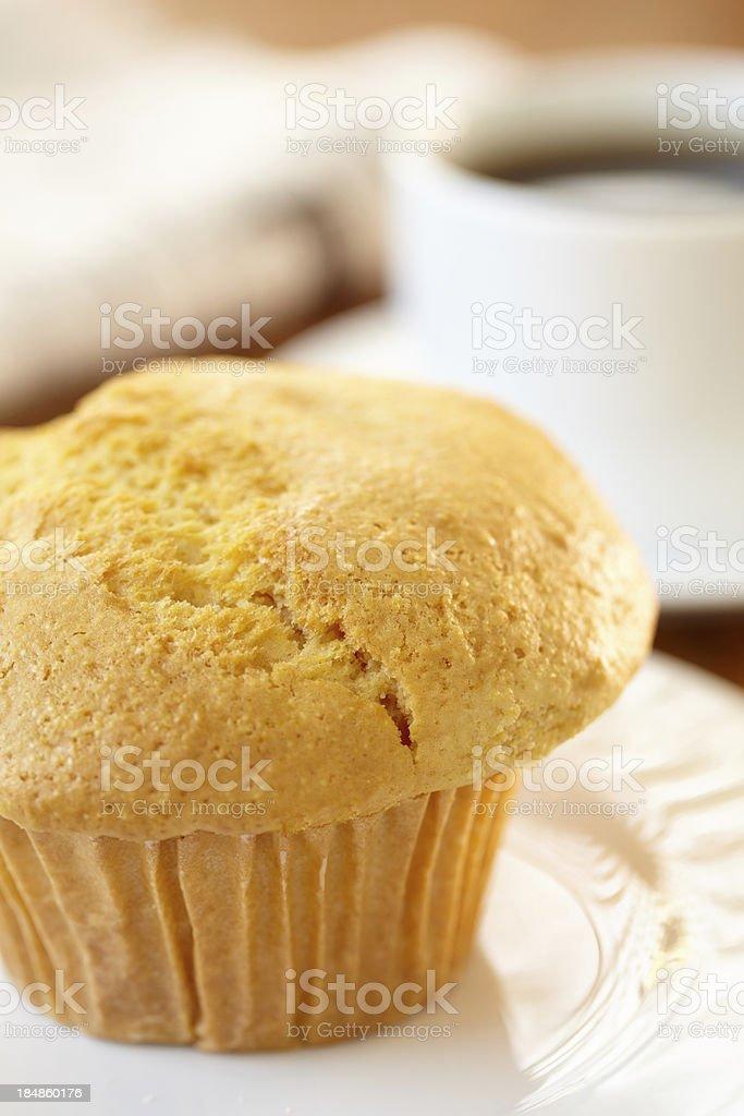 Corn Muffin stock photo