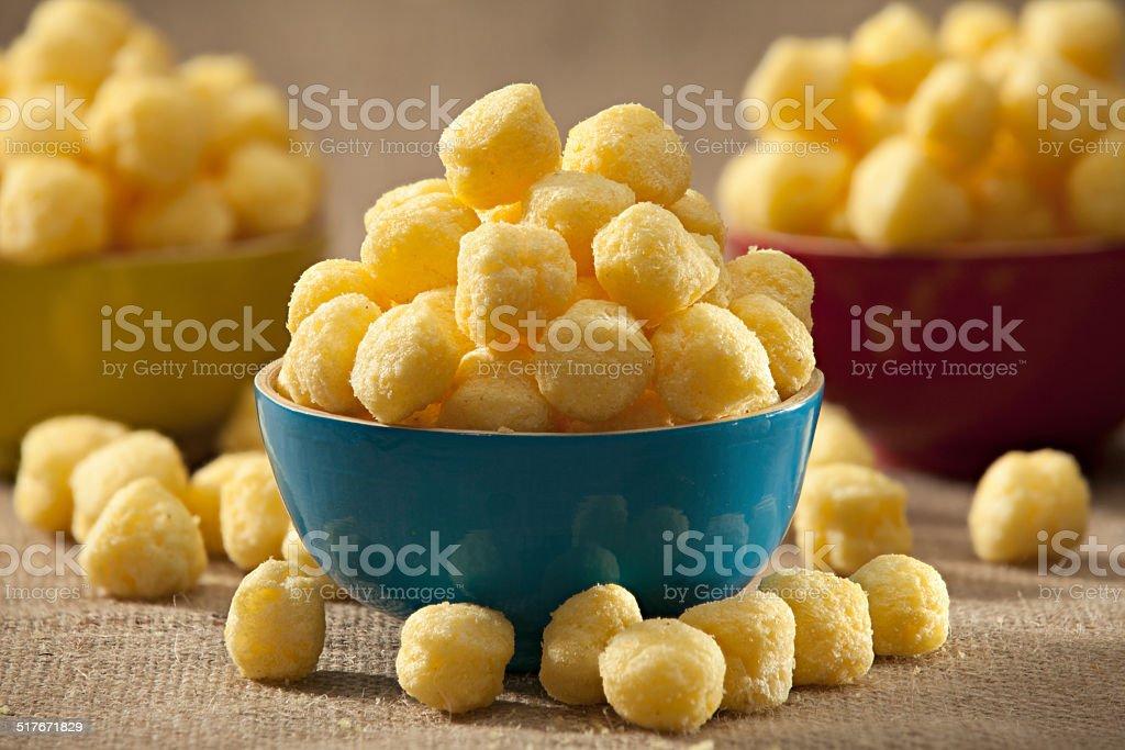 Corn Pops stock photo