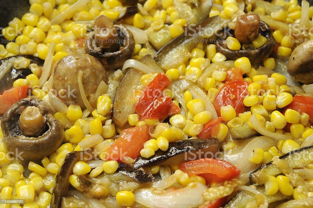 Corn Relish stock photo