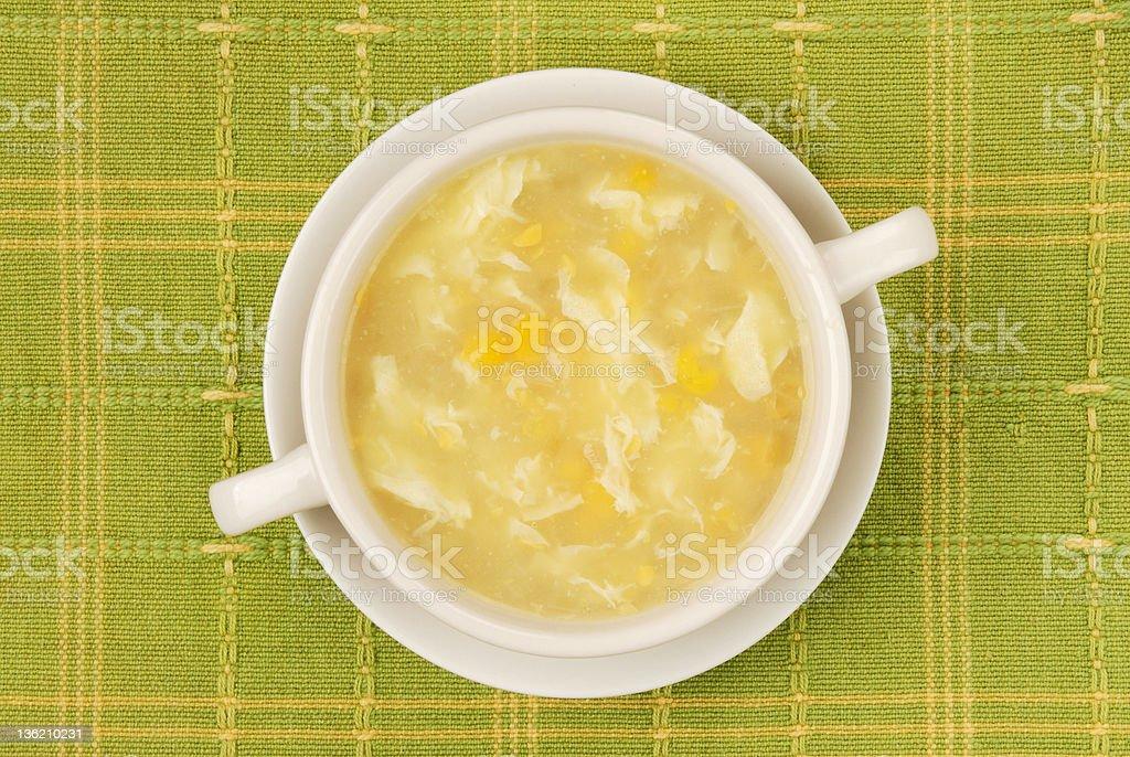 Corn Soup stock photo