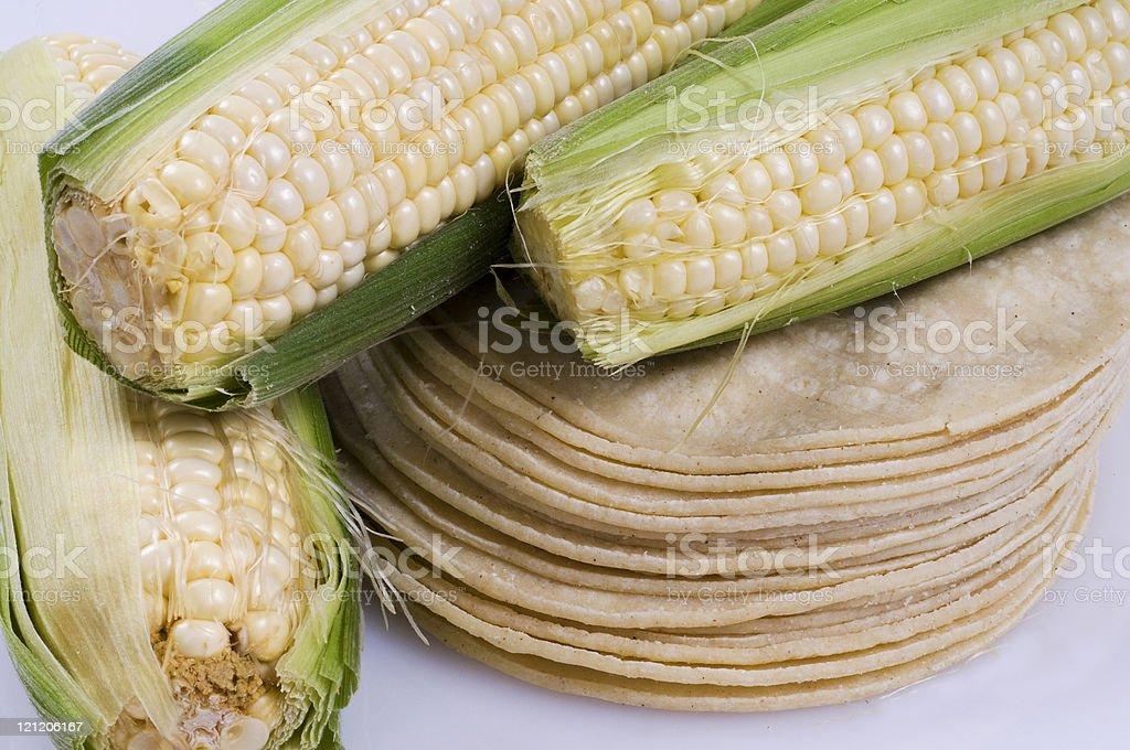 Corn Tortillas royalty-free stock photo
