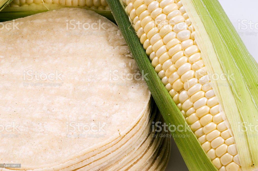 Corn Tortillas stock photo