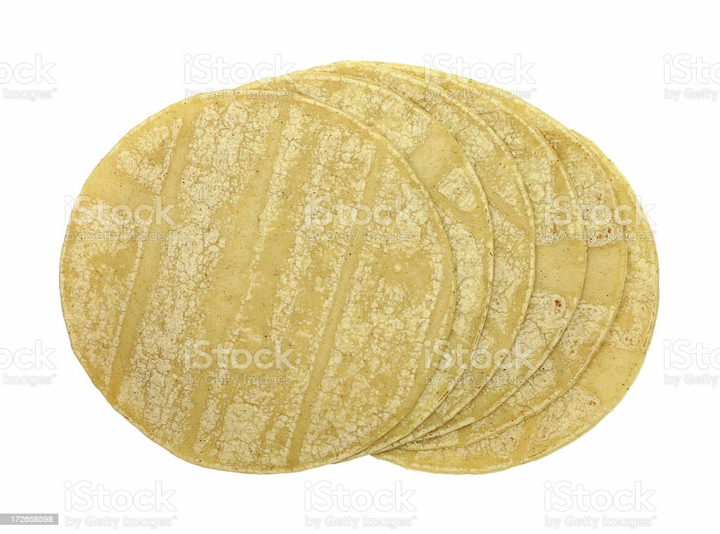 corn tortillas stock photo