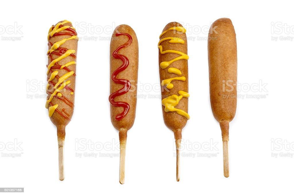 corndog stock photo