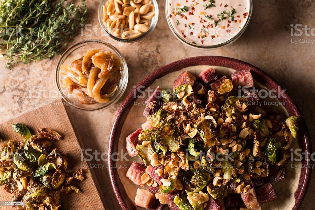 Corned Beef Appetizer stock photo