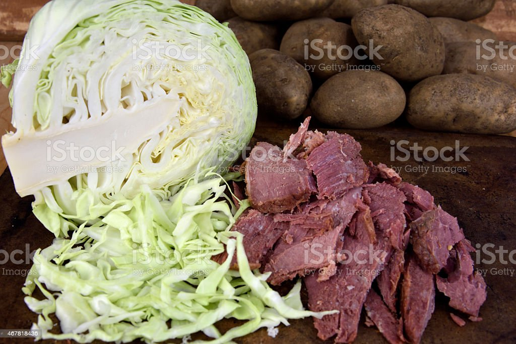 Corned Beef Brisket royalty-free stock photo