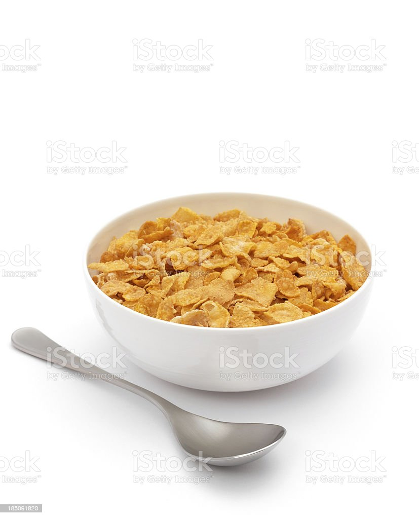 corned flakes stock photo