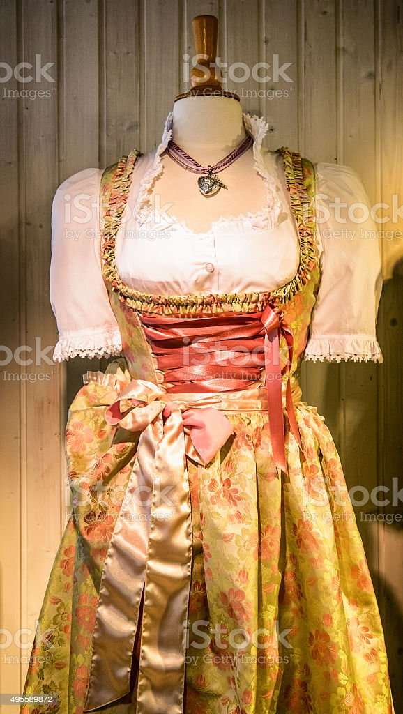 dirndl stock photo