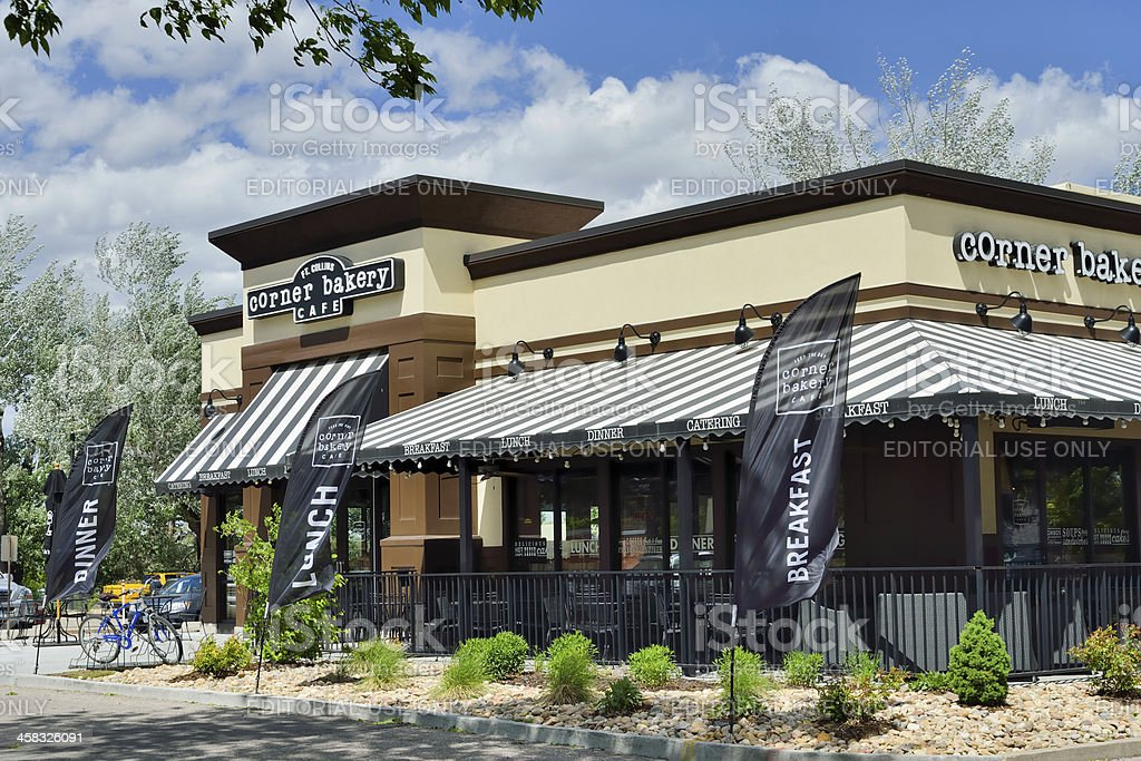Corner Bakery Cafe, Fort Collins royalty-free stock photo