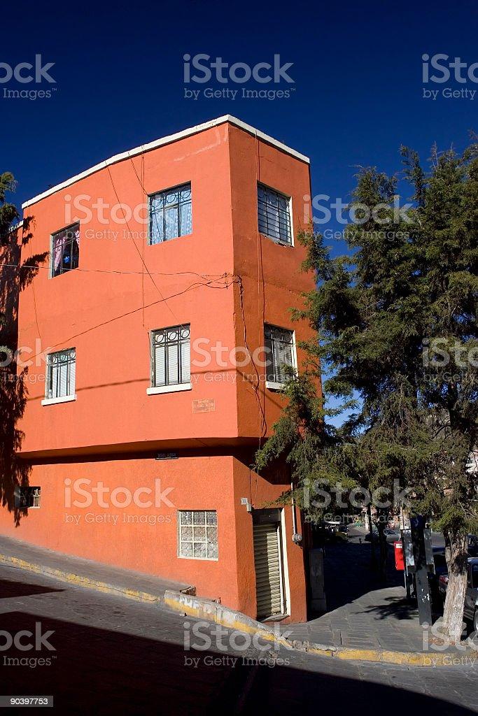 Corner Building stock photo