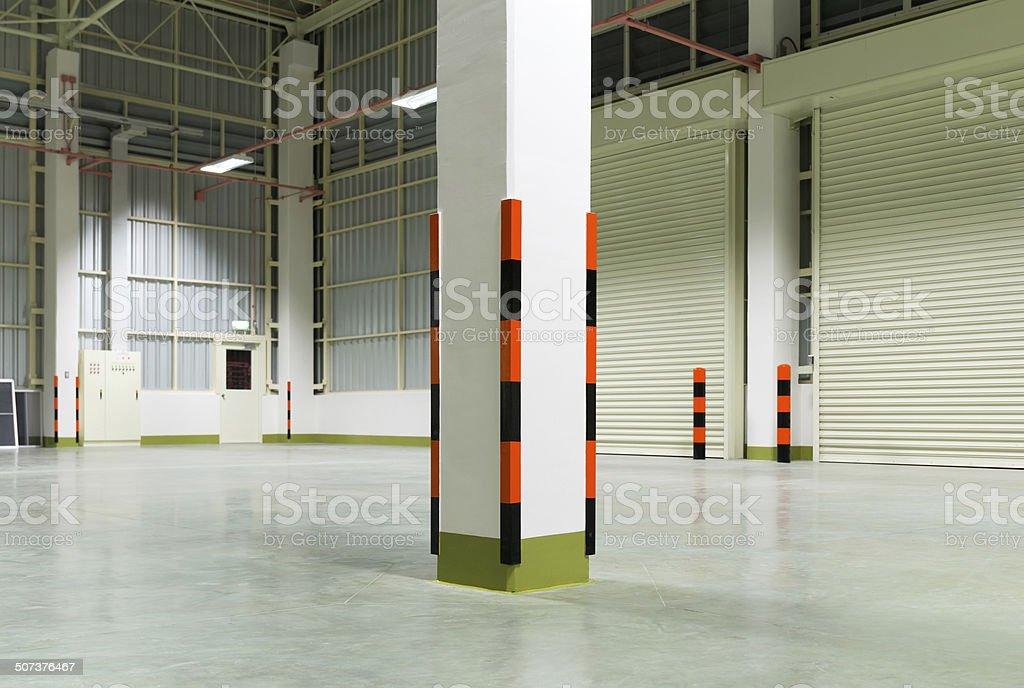 Corner guard stock photo