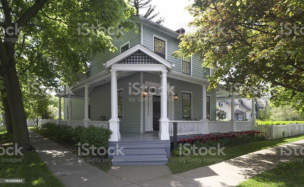 Corner House royalty-free stock photo