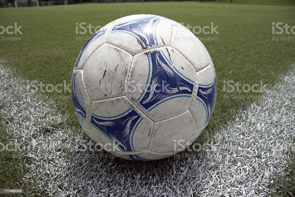 Corner kick stock photo