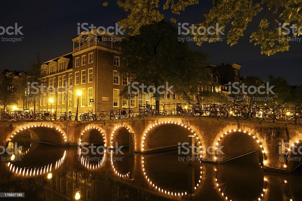 Corner of Bridges royalty-free stock photo