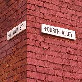 Corner of Fourth and Main