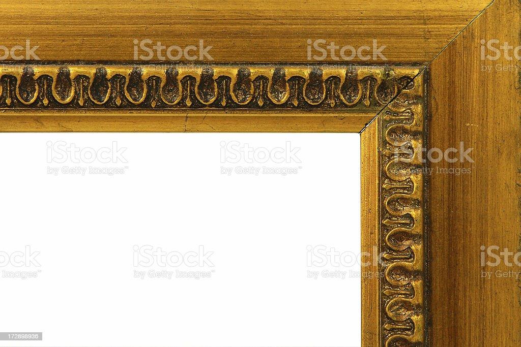 corner of frame stock photo