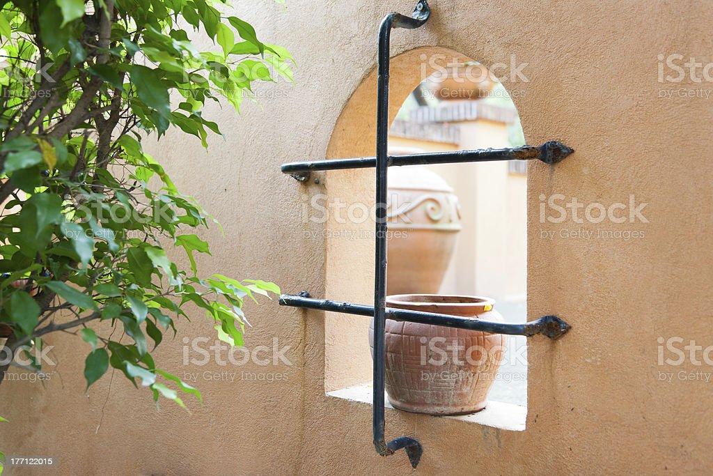 corner of garden royalty-free stock photo
