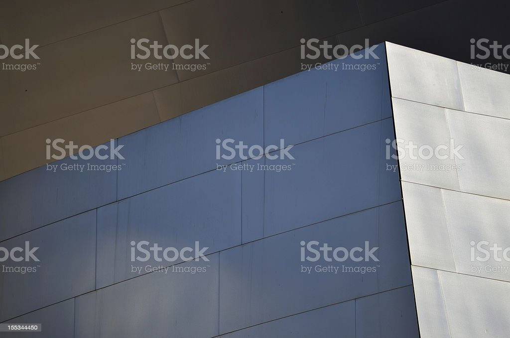 Corner of the Building royalty-free stock photo