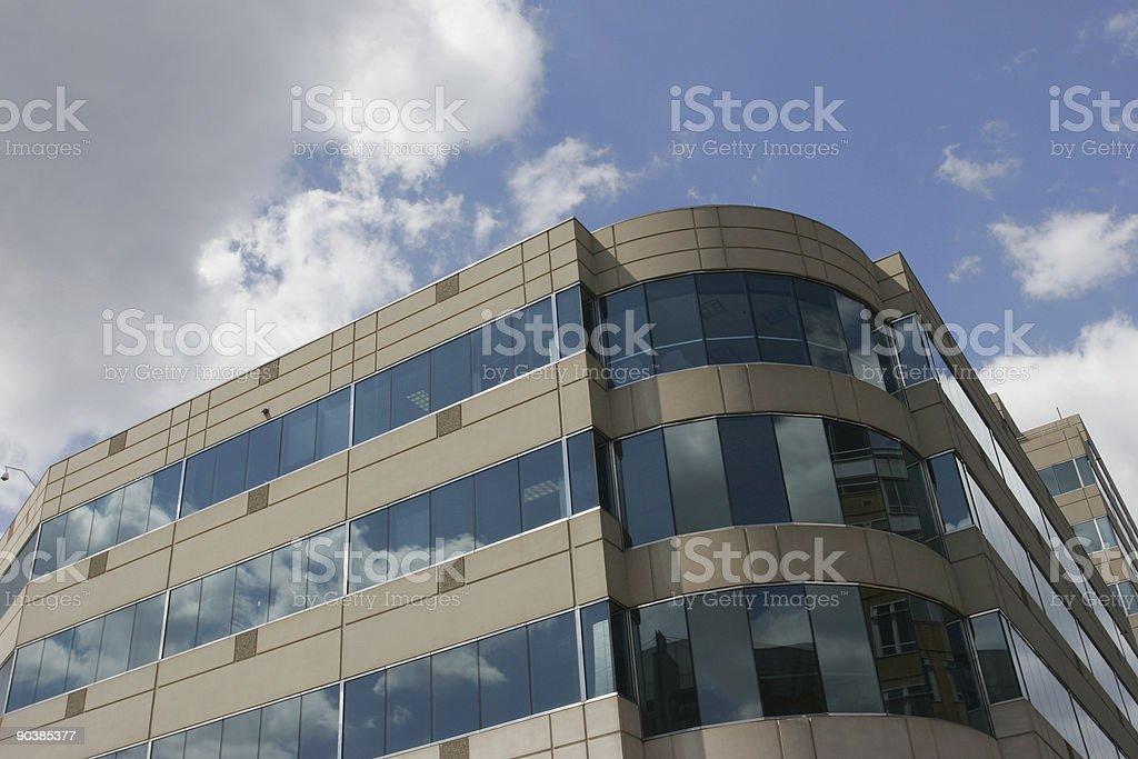 Corner Office royalty-free stock photo