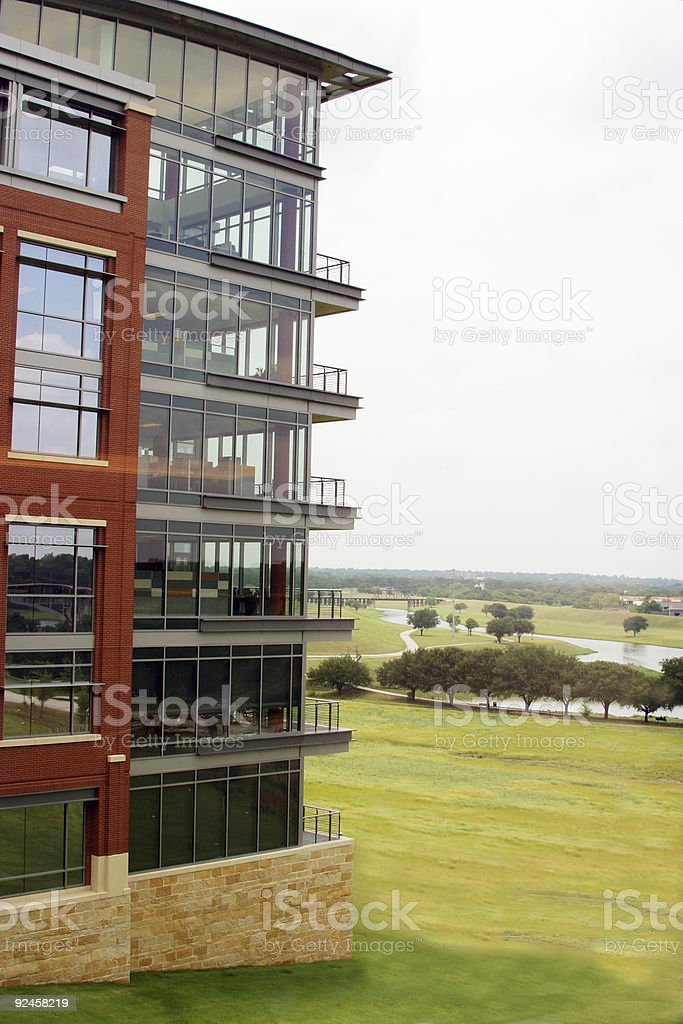 Corner Offices royalty-free stock photo