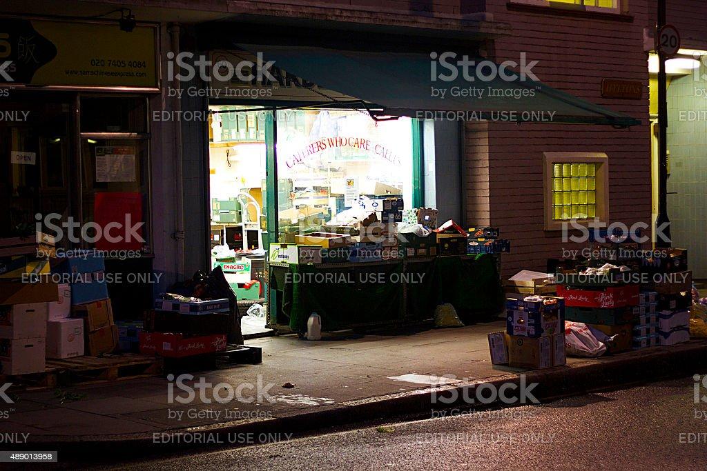 Angolo Shop, Londra foto stock royalty-free