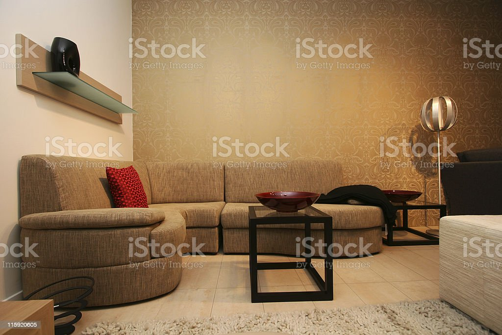 corner sofa royalty-free stock photo